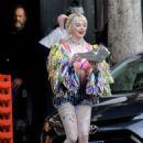 Margot Robbie – Films scenes for 'Birds of Prey' in LA