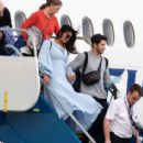 Priyanka Chopra and Nick Jonas – Arriving in the Caribbean