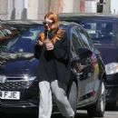 Stacey Dooley – Seen in a tracksuit after appearing on Radio 5Live in London