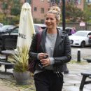 Gemma Atkinson – Arriving at Hits Radio in Manchester - 454 x 783