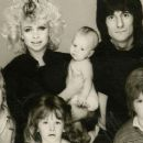 Ron Wood and Jo Wood - 454 x 255