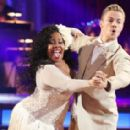 Derek Hough and Amber Riley