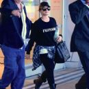 Demi Lovato Jfk Airport In Nyc