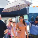 Priyanka Chopra on the set of 'Isn't It Romantic' in NYC - 454 x 764