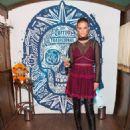Nina Agdal – Tradicional Dia de los Muertos Party at The McKittrick Hotel in NYC 11/1/ 2016