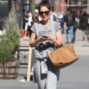 Katie Holmes – Seen out in New York