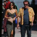 Daniella Pick and Quentin Tarantino – Out in Los Angeles