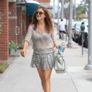 Kate Walsh is seen out and about in Los Angeles