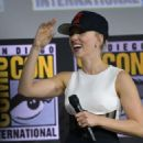 Scarlett Johansson – Marvel Panel at Comic Con San Diego 2019