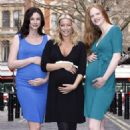 Denise Van Outen - Models Her New Pregnancy Range For Online Clothing Store Very.co.uk, 23 March 2010 - 454 x 681