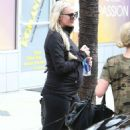 Ashlee Simpson Leaving The Gym In Studio City