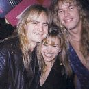 Joey Allen and Kathy Conan at the NAMN Jam in 1991 with Andy Timmons - 385 x 443