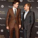 Robert  Pattinson & Christoph Waltz  on The German WFE Red Carpet April 27, 2011