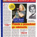 Axl Rose - Zycie na goraco Magazine Pictorial [Poland] (28 March 2019) - 454 x 642