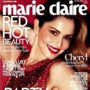 Cheryl Fernandez Versini Marie Claire Magazine December 2014