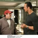 "Andy Fickman and Dwayne 'The Rock' Johnson behind the scene of ""THE GAME PLAN"" © Disney Enterprises, Inc. All rights reserved. Photo Credit: RON PHILLIPS - 454 x 333"