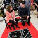 Loretta Lynn and Jack White Induction Into The Nashville Walk Of Fame on June 4, 2015 in Nashville, Tennessee. - 454 x 571