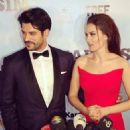 "Fahriye Evcen & Burak Özçivit attend ""Kardesim Benim"" Movie Premiere"