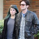 Jackson Rathbone's Grove Stroll with His Lady