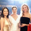 Lucy Liu, Drew Barrymore and Cameron Diaz in Columbia's Charlie's Angels: Full Throttle - 2003