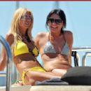Tara Reid - Yacht In St. Tropez, July 25 2009