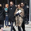 Alexa Chung & Alexander Skarsgard Out And About In NYC ( March 23, 2017) - 454 x 573
