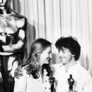Meryl Strepp and Dustin Hoffman at the 52nd annual Academy Awards show in Los Angeles, California, on April 14, 1980.