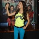 Victoria Justice attended a signing for the Victorious 2.0 soundtrack at the Hard Rock Café at Universal City Walk in Hollywood last night, June 11