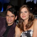 Sonya Smith and Gabriel Porras
