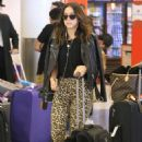 Chloe Bennet – arrives at LAX Airport in LA