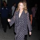 Kylie Minogue Out And About In New York, October 11 2009