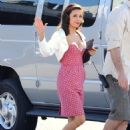 Eva Longoria Parker - on the set of Desperate Housewives 01/28/11