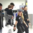 Shakira With Her Family at the Airport in Miami 12/19/ 2016 - 454 x 714