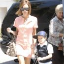 Victoria Beckham At The Grove, 2008-04-22