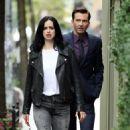 Krysten Ritter – Filming 'Jessica Jones' in New York - 454 x 834
