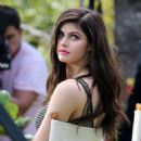 Alexandra Daddario – Promotes 'Baywatch' movie in Miami Beach