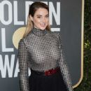 Shailene Woodley At The 75th Golden Globe Awards (2018) - 341 x 512