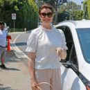 Bellamy Young – Instyle Day of Indulgence Party in Los Angeles