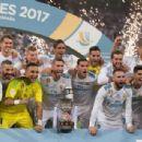 Real Madrid v FC Barcelona - Supercopa de Espana: 2nd Leg - 454 x 307