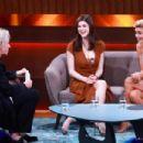 Alexandra Daddario and Kelly Rohrbach – German TV Show 'Mensch Gottschalk' in Berlin