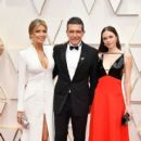 Nicole Kimpel, Antonio Banderas and Stella Banderas At The 92nd Annual Academy Awards - Arrivals - 411 x 600