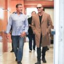 Sylvester Stallone and Jason Statham Grab Lunch in Beverly Hills - 454 x 511