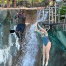 Iskra Lawrence and Philip Payne at Mountain Creek Water Park in New Jersey - 454 x 521