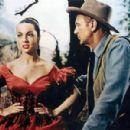 Gary Cooper and Sara Montiel