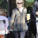 Ashlee Simpson-Wentz - Ashlee Simpson - Starbucks in LA JAN-17-2011