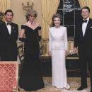 Prince Charles, Princess Diana, Nancy and Ronald Reagan