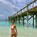 Eva LaRue in White Bikini – Instagram
