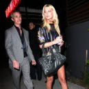 Tara Reid - Short Dress Leaving Guys Restaurant In Beverly Hills 3-13-09