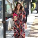 Mandy Moore in Colorful Dress – Out in Beverly Hills - 454 x 681