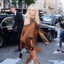 Karolina Kurkova – Attends the Vogue Party 2017 in Paris - 454 x 655